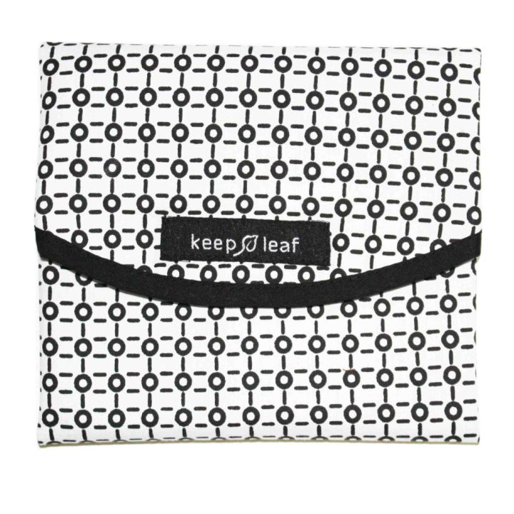 Reusable Sandwich Wrap – Black and White