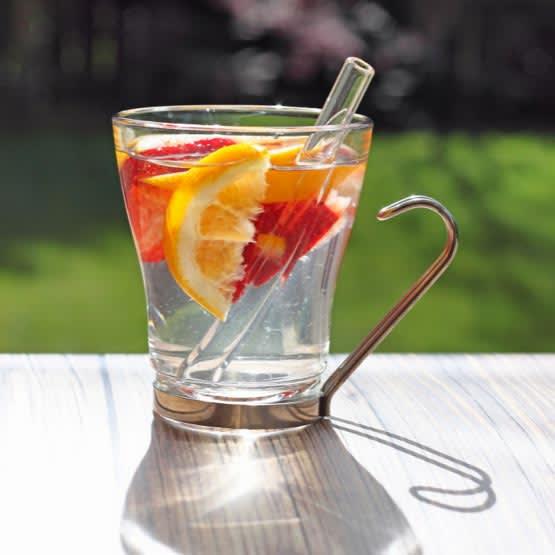 GlassDharma Simple Elegance Shorty Straw (9.5mm x 6.25″)