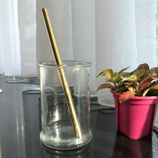 Stainless Steel Straw – Gold Smoothie (304 grade)