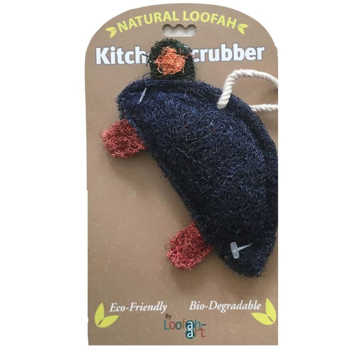 Blue Turtle Loofah