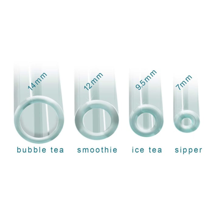 GlassDharma Simple Elegance Bubble Tea (14mm x 9″)