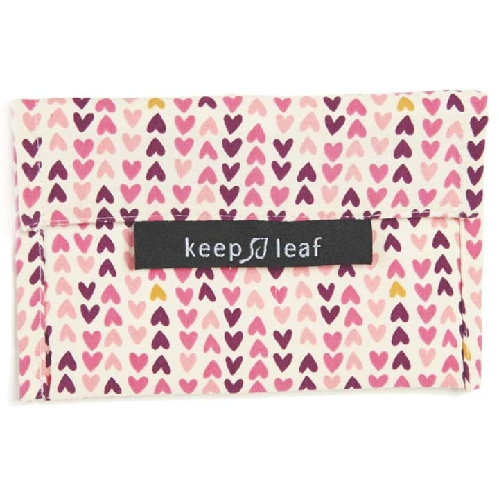 Reusable Snack Bag – Hearts (Size M)