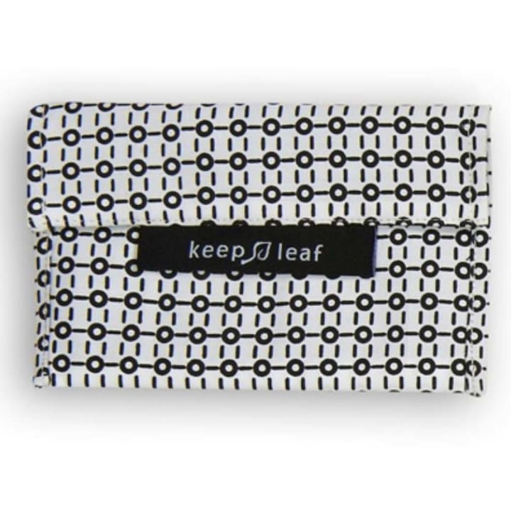Reusable Snack Bag – Black and White (Size M)