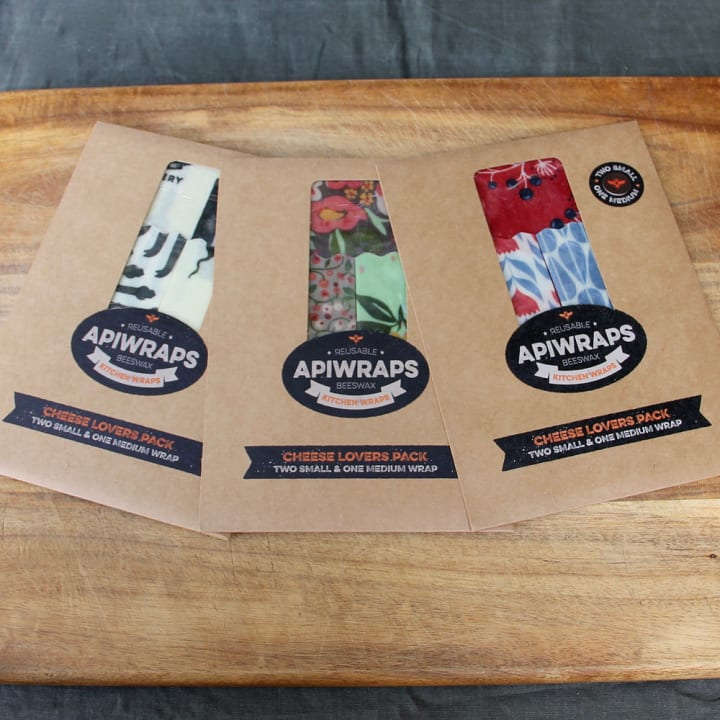 Apiwraps Multipack – For the Cheese Lovers (3 Cheese Lovers Packs)