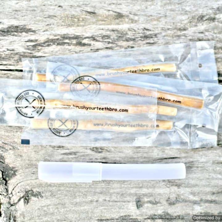 Miswak Toothbrush Casing