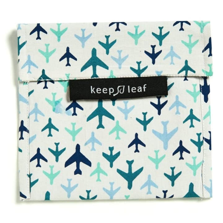 Reusable Snack Bag – Planes (Size L)