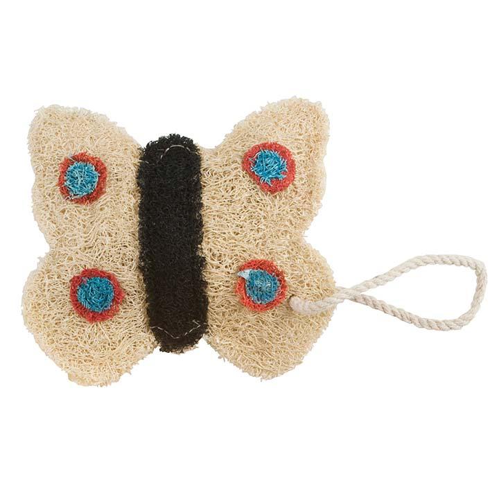 Cream Butterfly Loofah