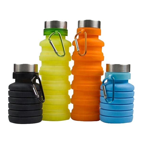 Collapsible Silicone Sports Bottle