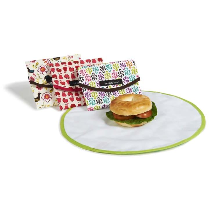 Reusable Cotton Sandwich Wrap – Black and White
