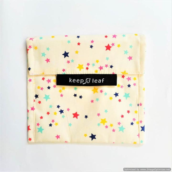 Reusable Snack Bag – Stars (Size L)