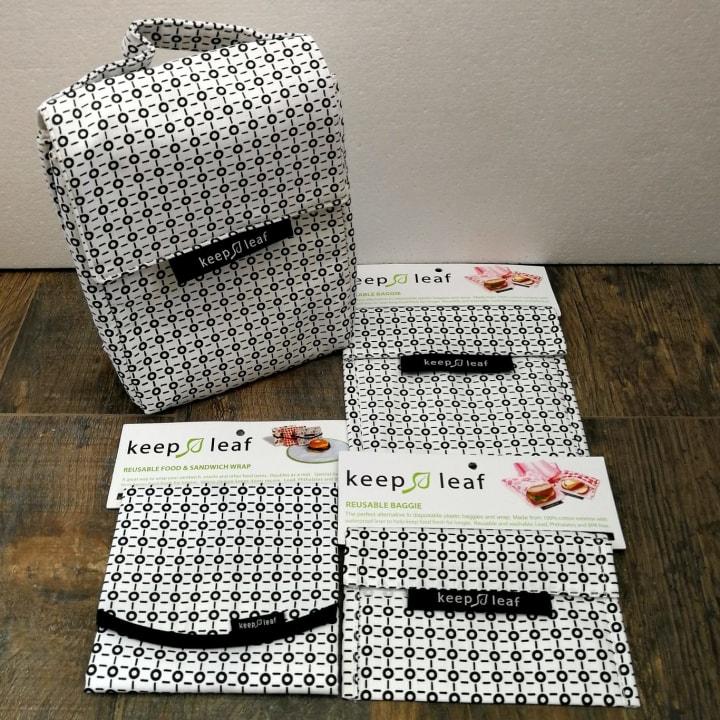 Keep Leaf 4-in-1 Bundle – Black and White Design