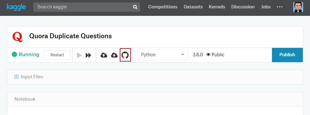 Kaggle Github Plugin | Kaggle