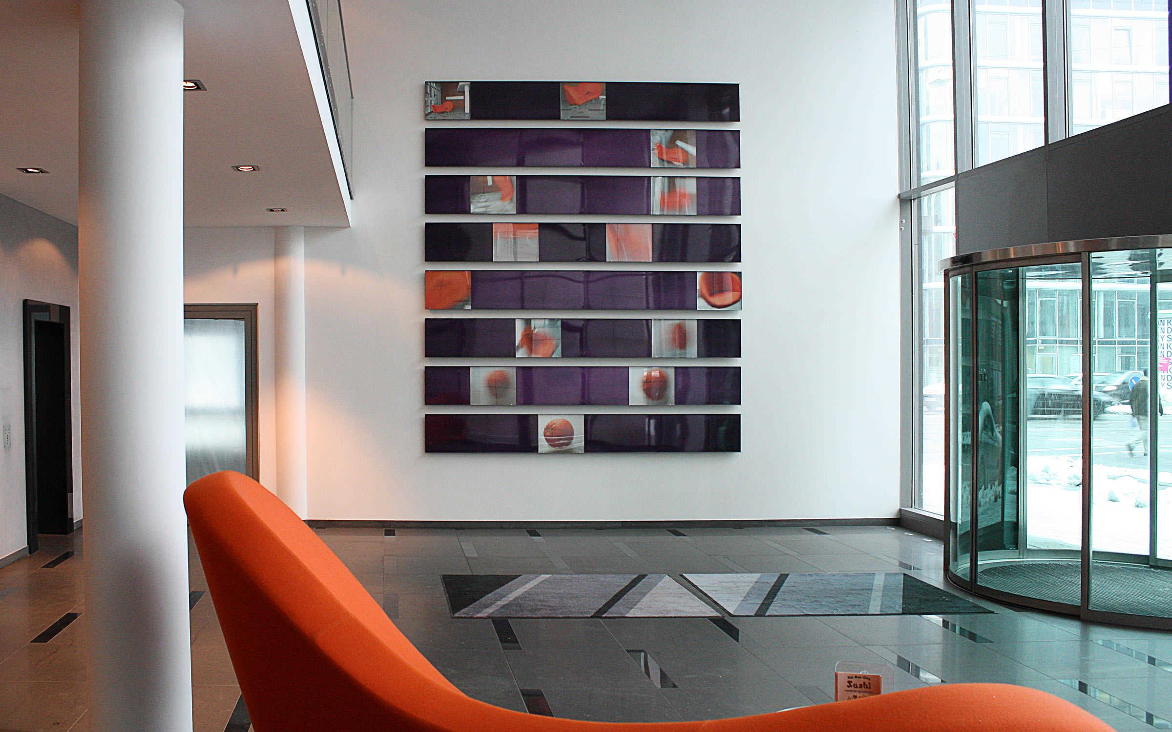 Projekt Foyergestaltung ARTEC FORUM Karlstraße, München