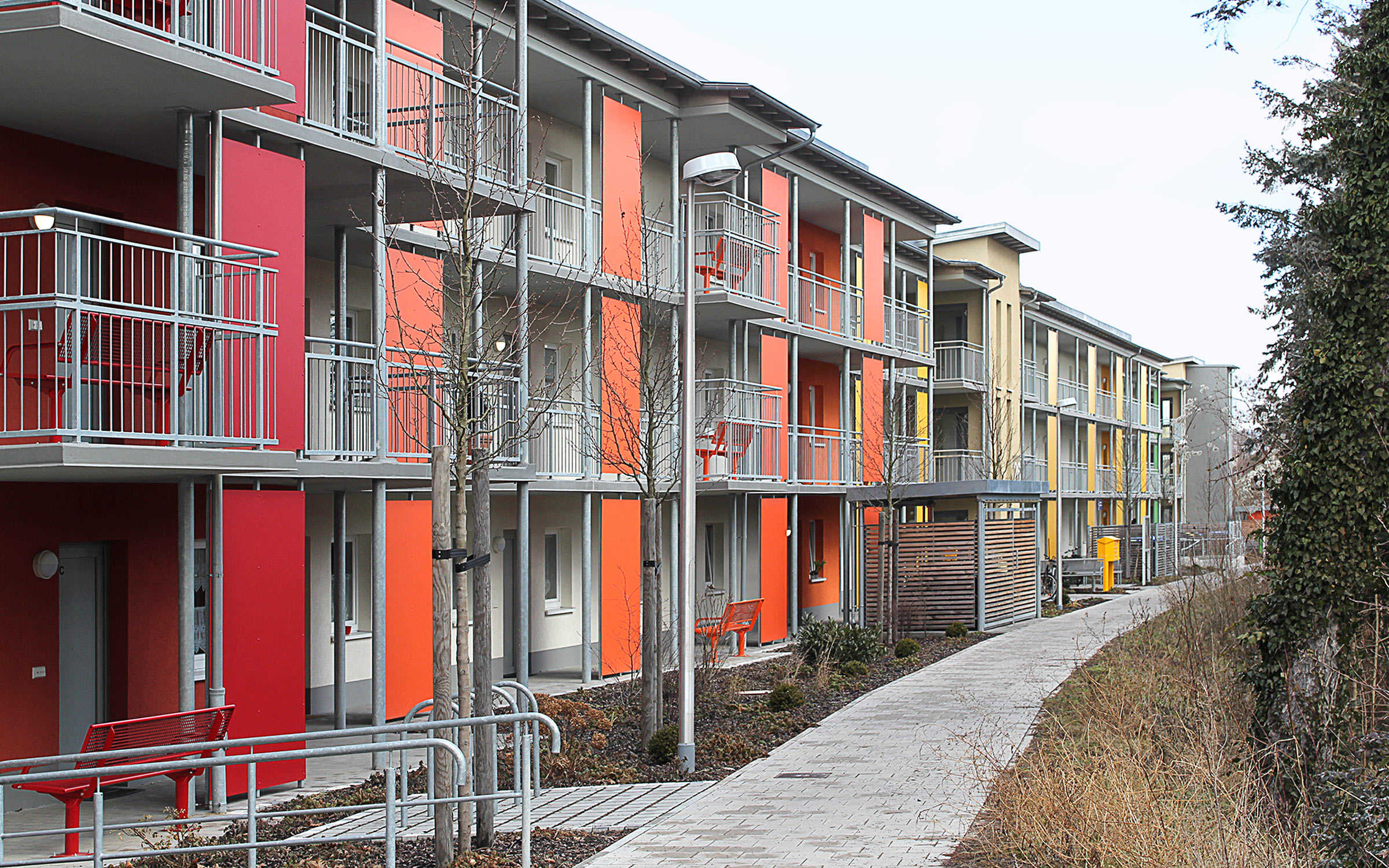 Projekt Seniorenwohnen Pommernstraße, Erlangen