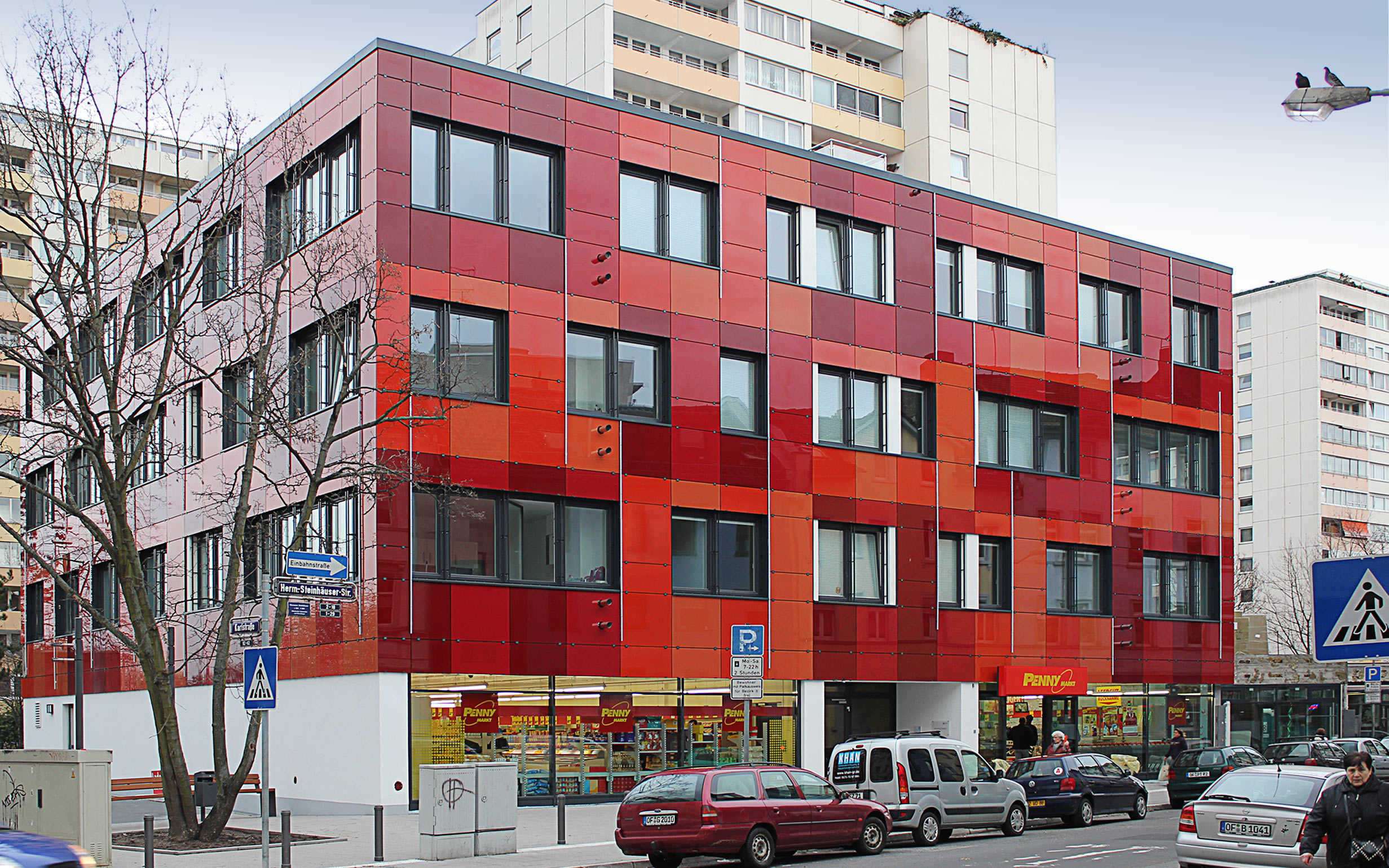 "Projekt Boardinghouse ""Ostpol"" der Frankfurter School of Finance and Management Offenbach a. M."