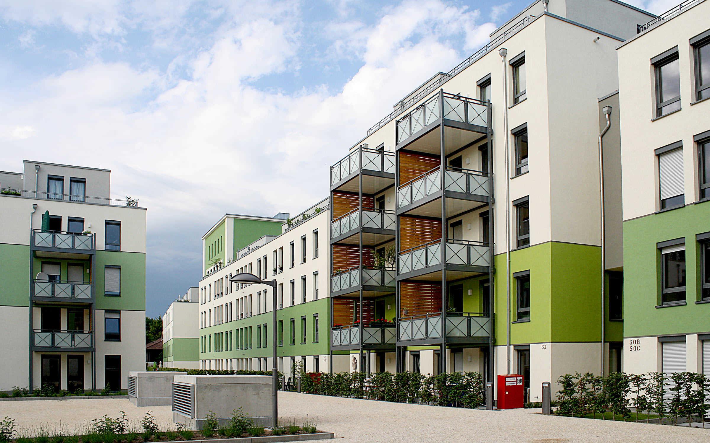 "Wohnquartier ""Moguntiahöfe"", Mainz"