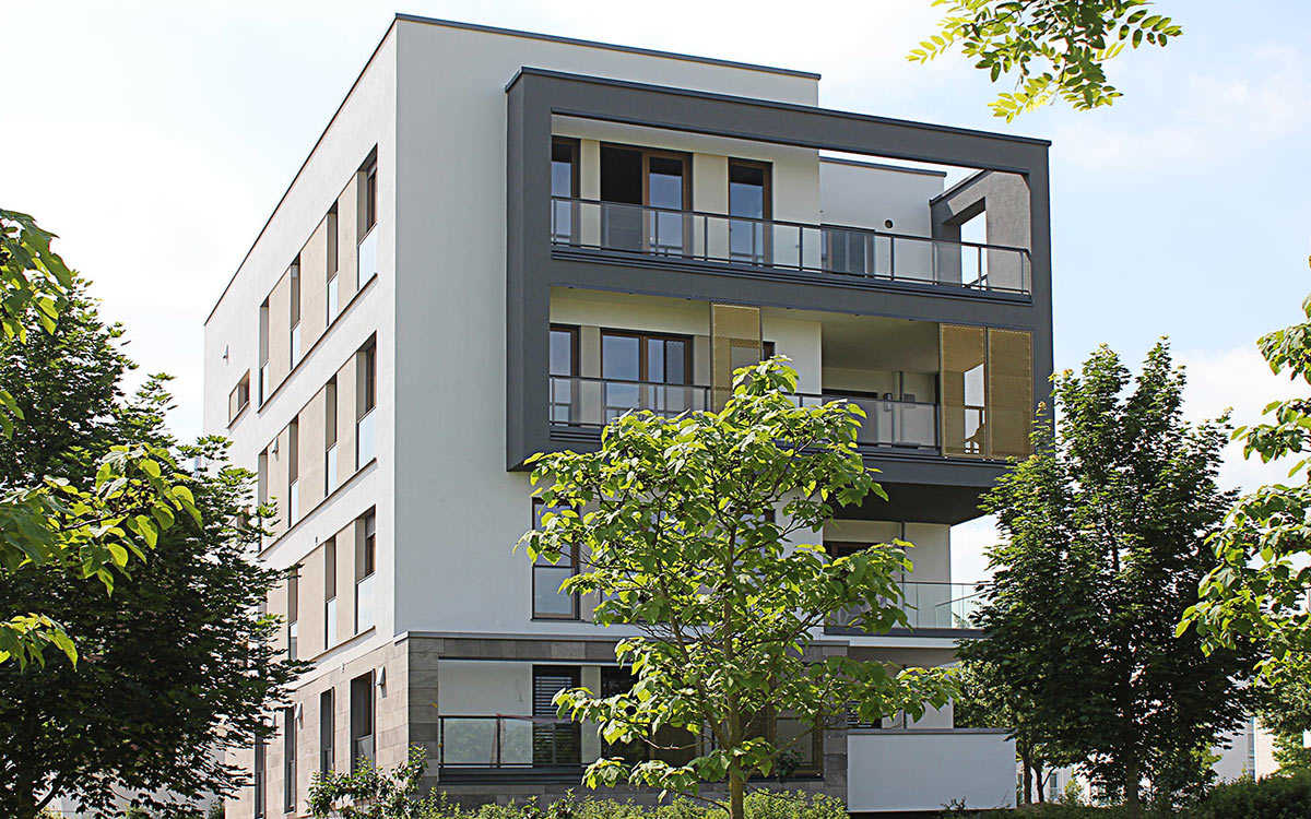 """Projekt """"Parkterassen"""", Frankfurt a. M. Riedberg Westflügel"""