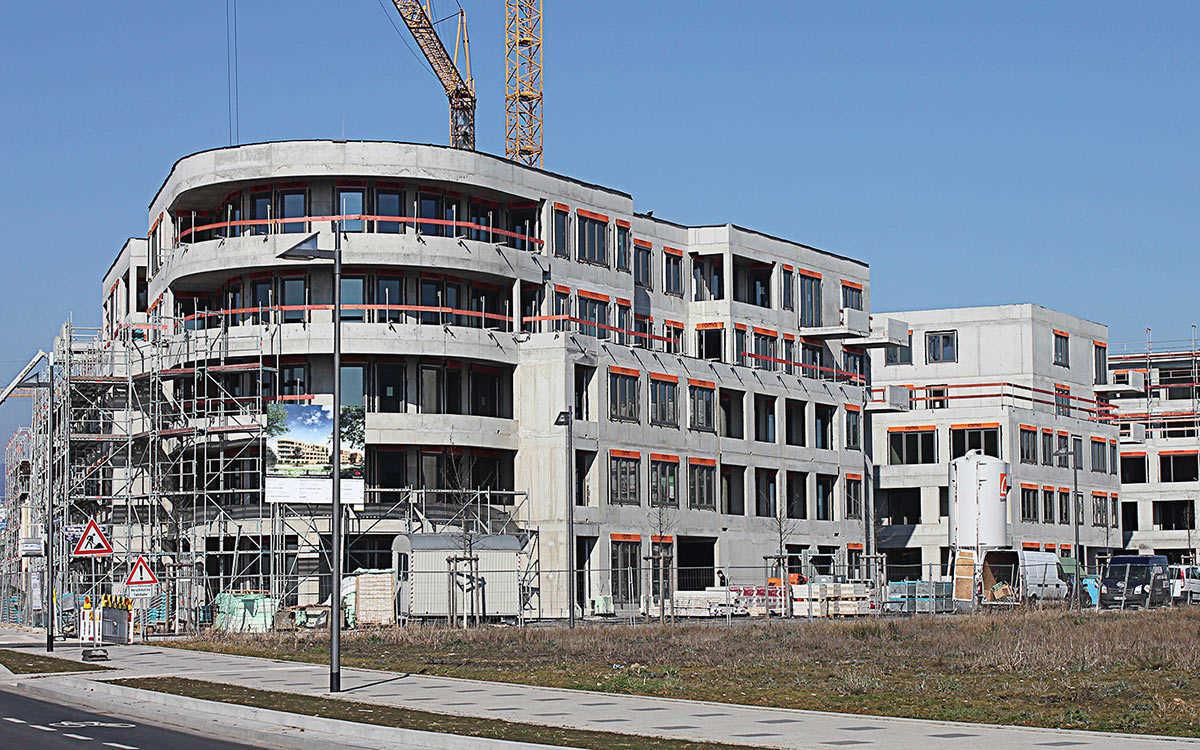 Projekt Rudloff Allee, Frankfurt a. M. Riedberg Westflügel