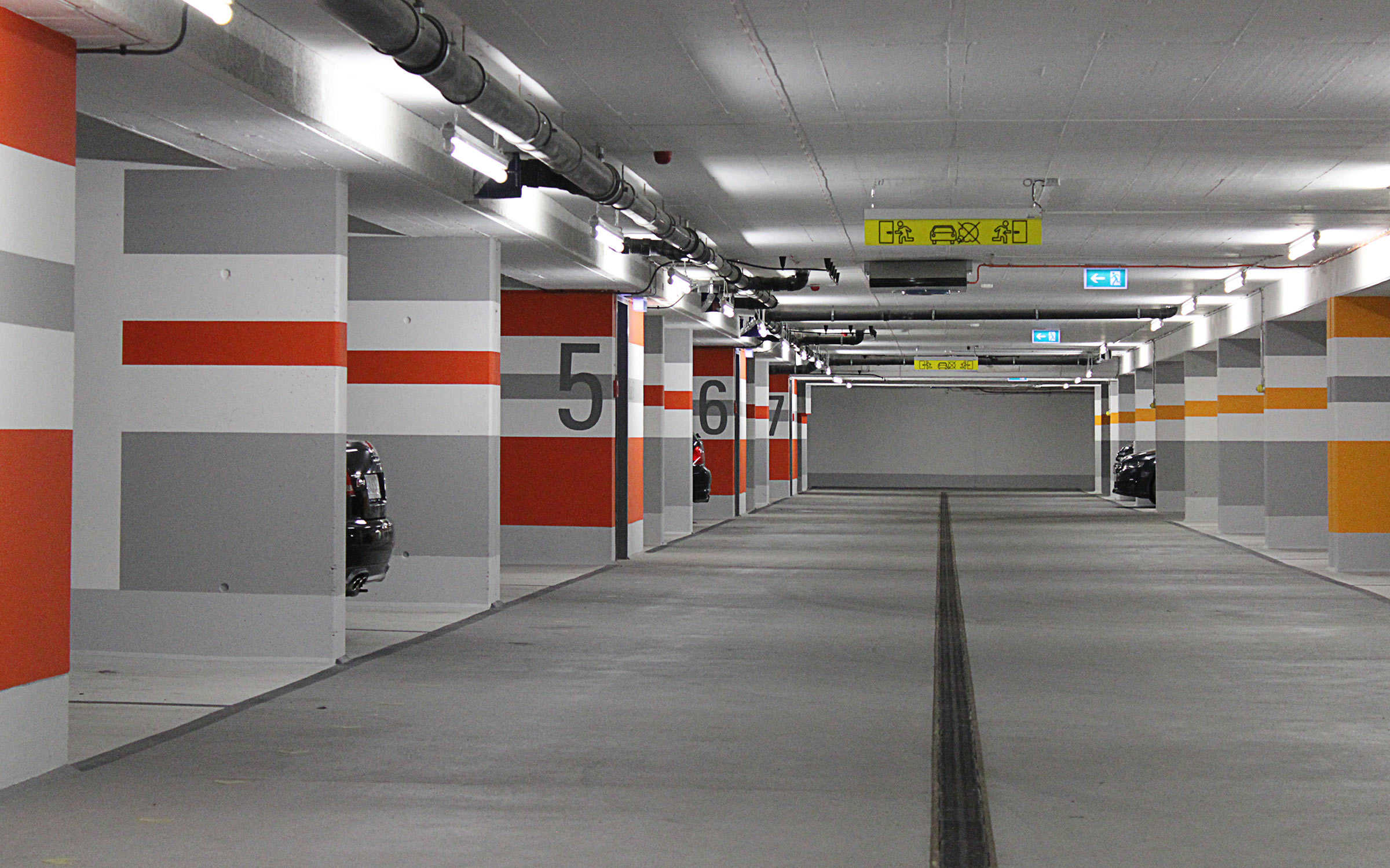 """Projekt """"Park Linné"""" Tiefgarage """"Cortes"""", Köln"""