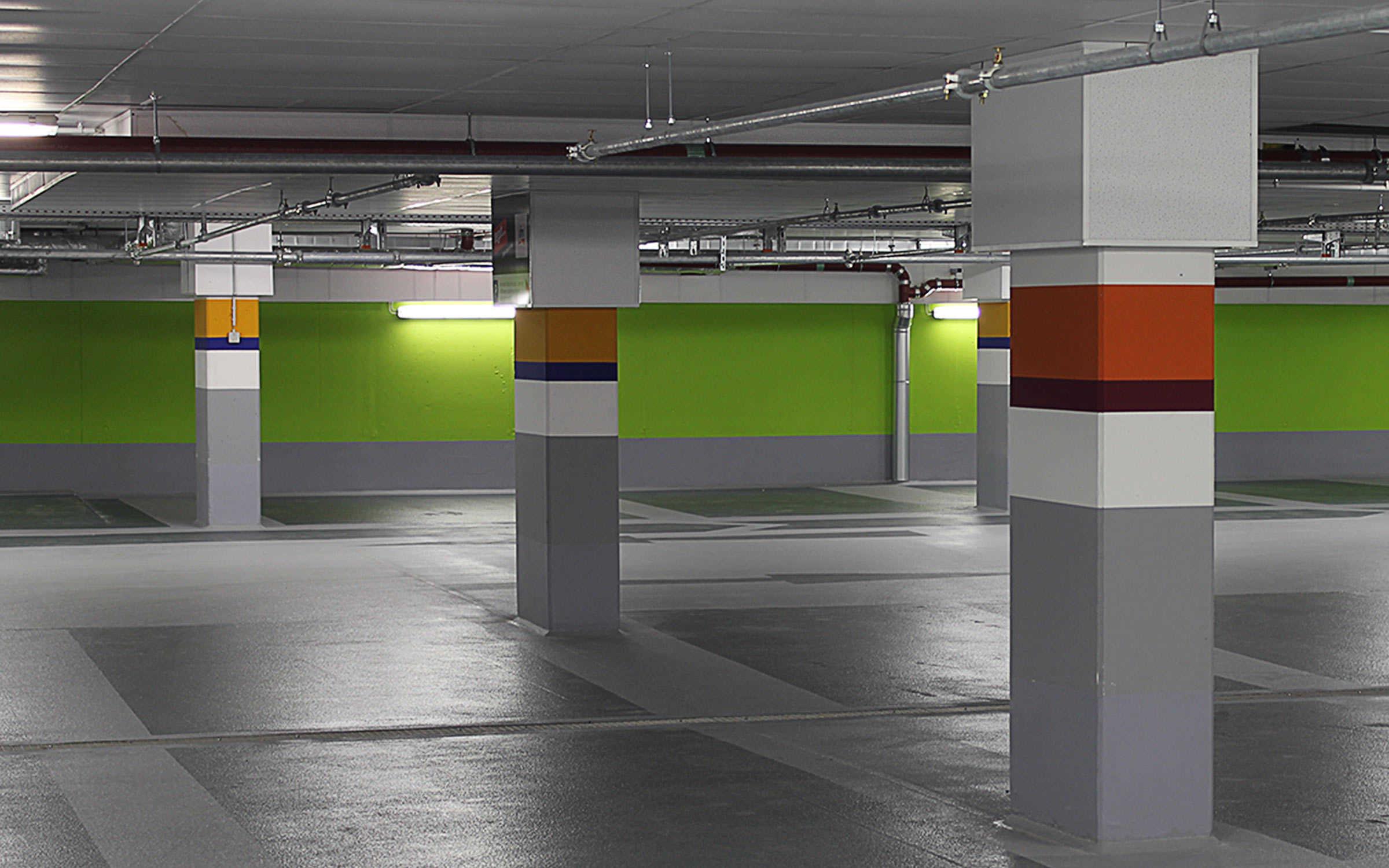 Projekt Tiefgarage Gravensteiner Arkaden, Frankfurt a. M.