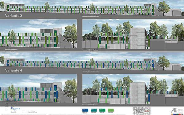 Projekt Parkhaus Stresemannallee, Darmstadt-Eberstadt