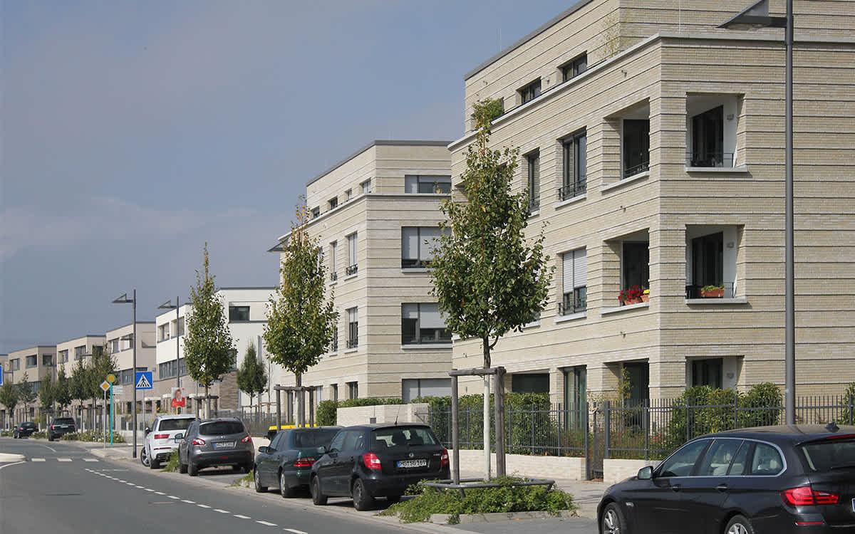 Projekt Carl-Hermann-Rudloff-Allee, Frankfurt a. M. Riedberg Westflügel