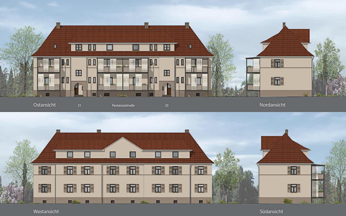 Projekt Pestalozzistraße, Ginsheim-Gustavsburg