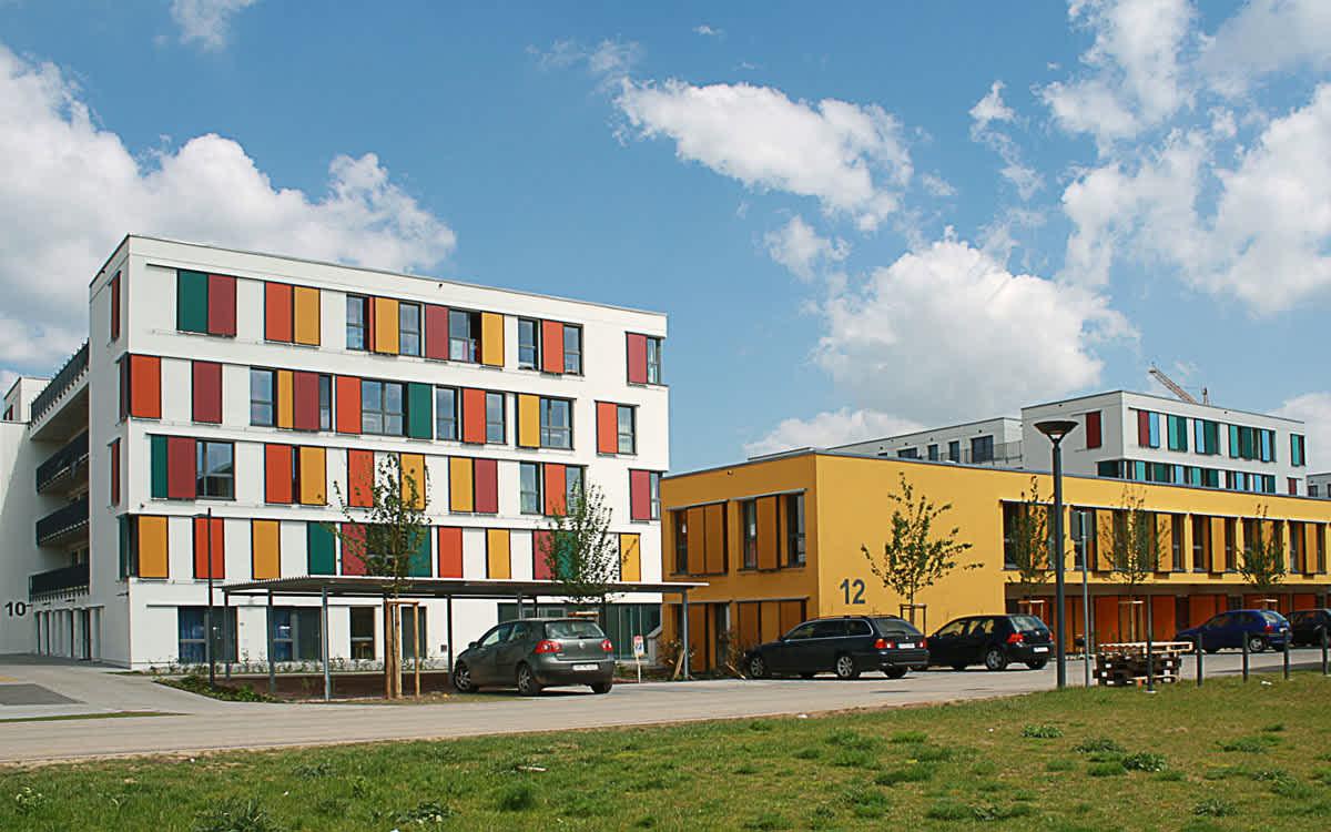 """Studierenden Wohnanlage """"k3"""" Koblenzer Straße, Mainz"""