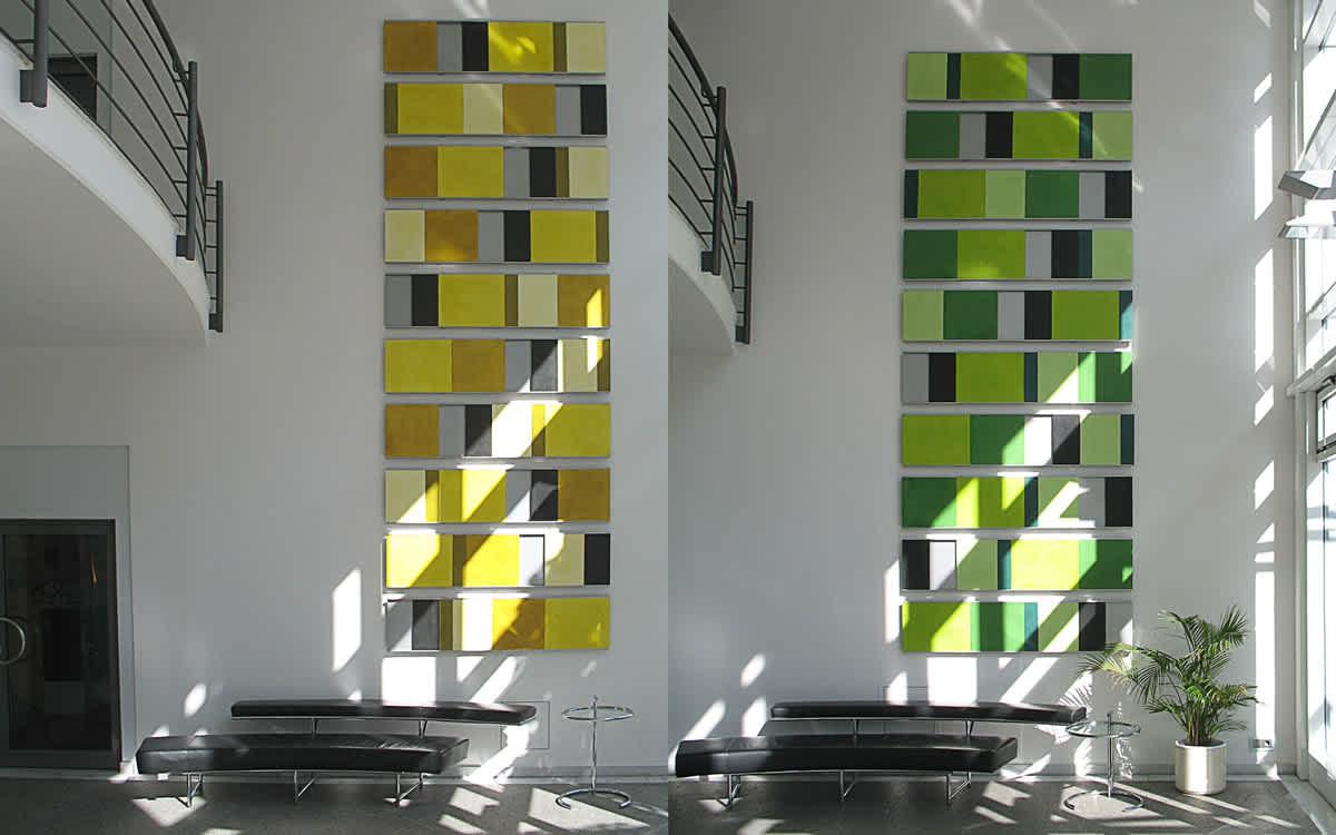 Projekt Foyergestaltung Elsenheimer Straße, München