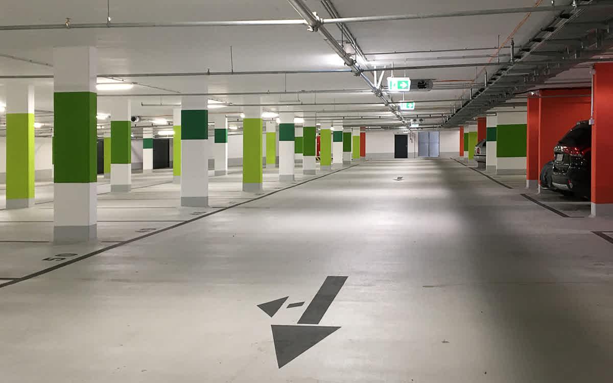 Projekt Tiefgarage Lincoln Siedlung, Darmstadt