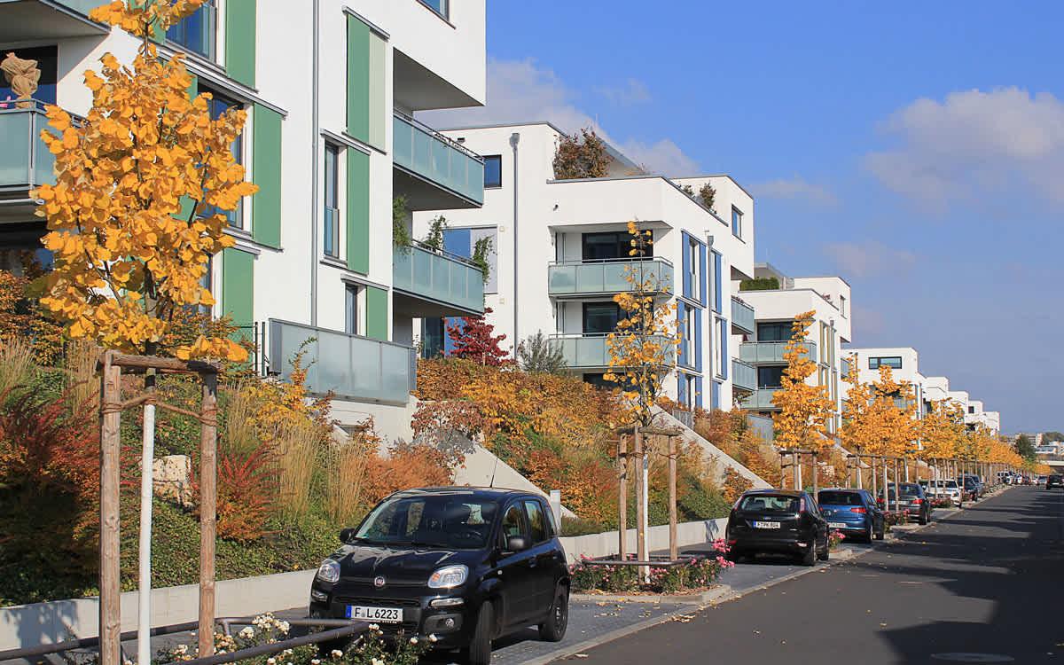 Projekt Bo Park. Lane, Frankfurt, Riedberg