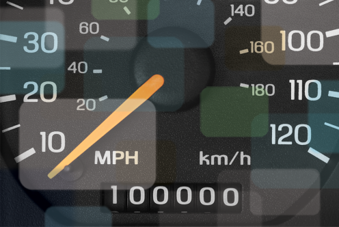 How do you find out your annual mileage?