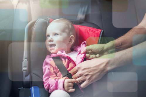 Three tips to understand child-safety seats