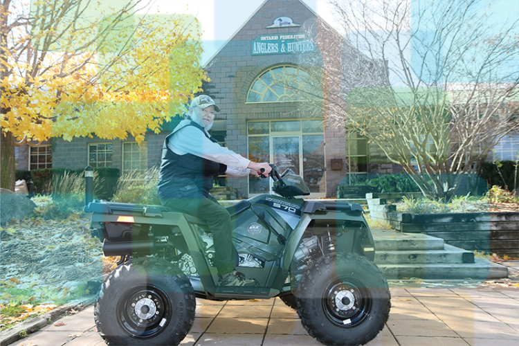 BrokerLink and OFAH give away ATV