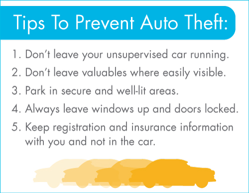 Tips To Prevent Auto Theft
