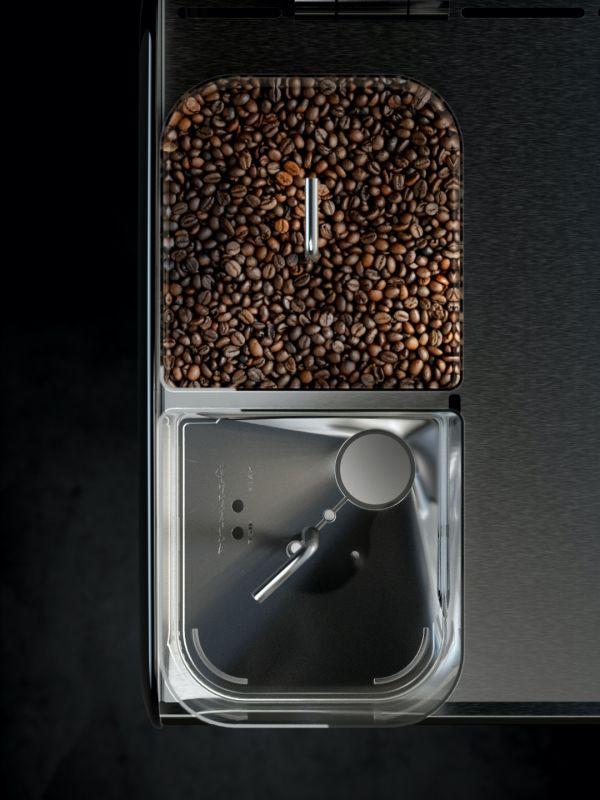 Aequator Bolivia - Kaffemaskin - ovenfra