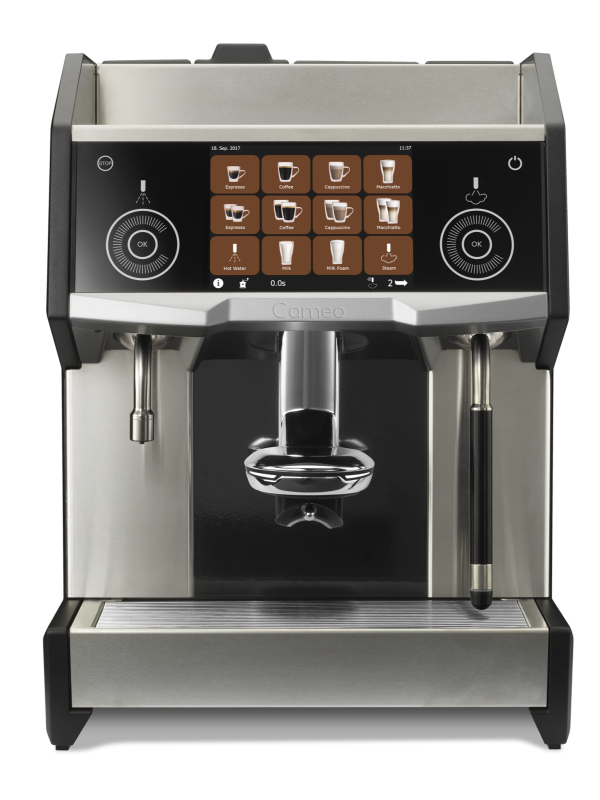 Eversys Cameo - Kaffemaskin - Earth - Front