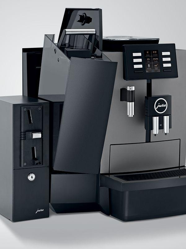 Jura X6 -Kaffemaskin - Fremside