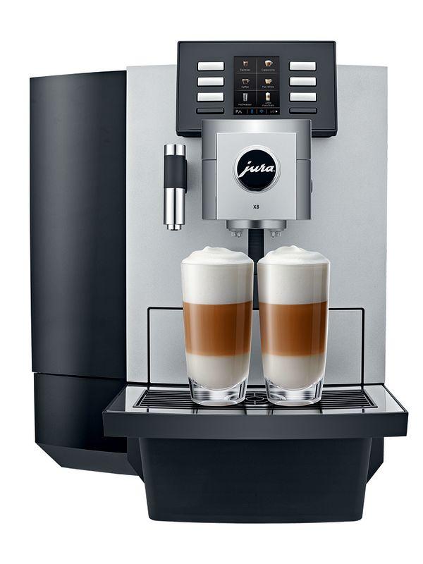 Jura X8 - Kaffemaskin - Front