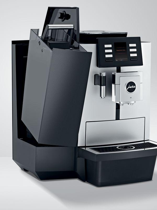 Jura X8 - Kaffemaskin - Fremside