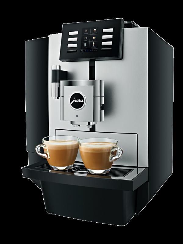 Jura X8 - Kaffemaskin - Hovebilde