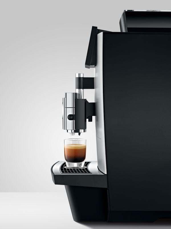 Jura X10 - Kaffemaskin - Side