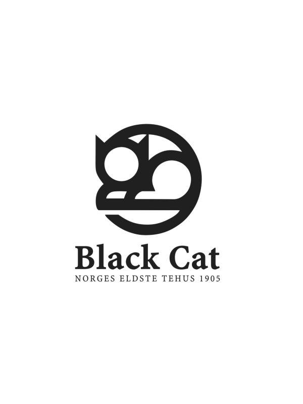 Black Cat - Kaffe - Logo V3
