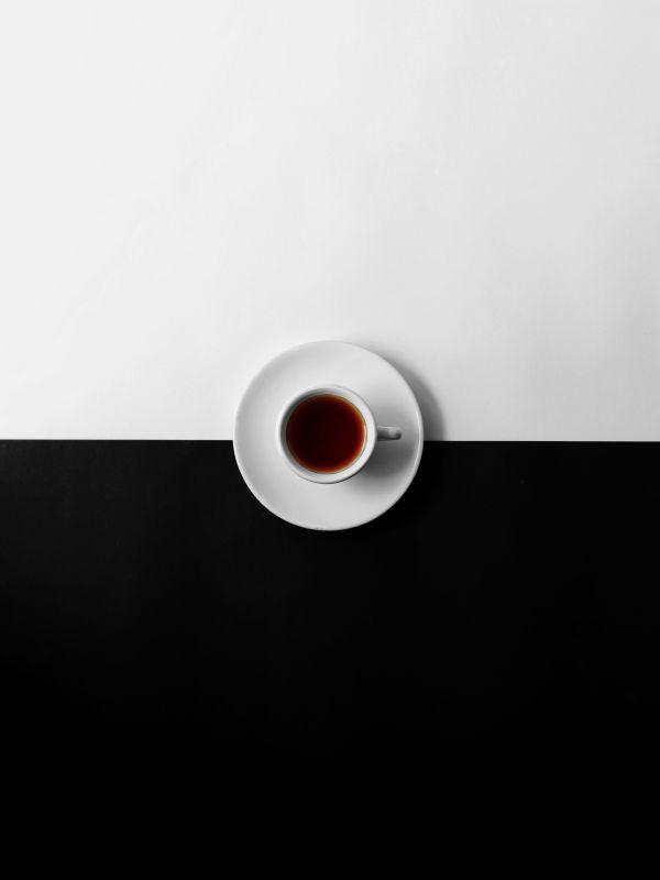 Hvor ligger forskjellen - Artikkel - Sort og hvit kaffekopp