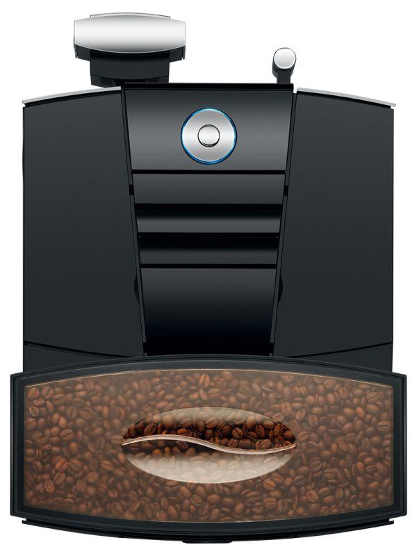 Jura Giga X3c - Kaffemaskin - Ovenfra