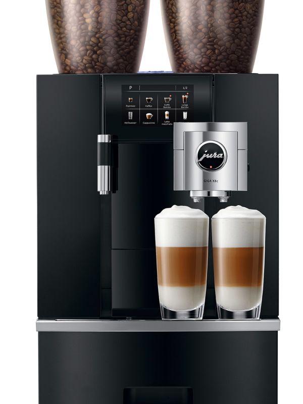 Jura Giga X8c - Kaffemaskin - Front-total