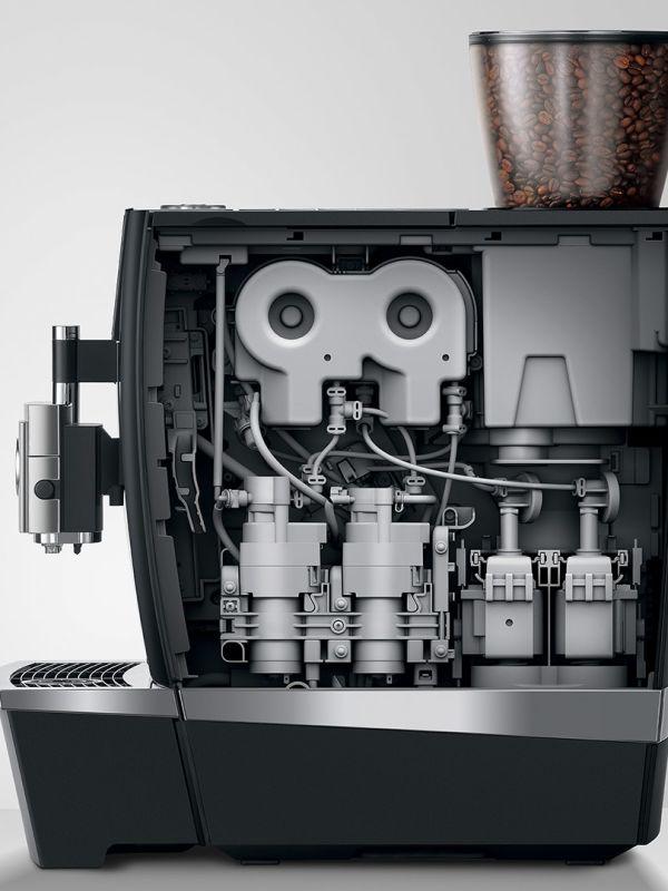 Jura Giga X8c - Kaffemaskin - Side