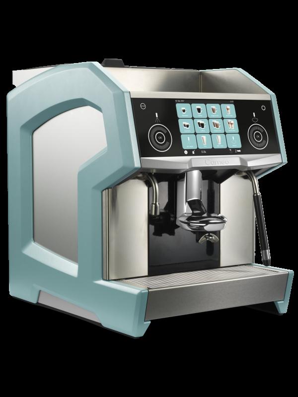 Eversys Cameo Ocean - Kaffemaskin - Venstre side