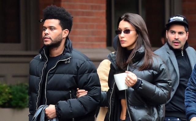 Фото дня: Белла Хадид облизывает The Weeknd