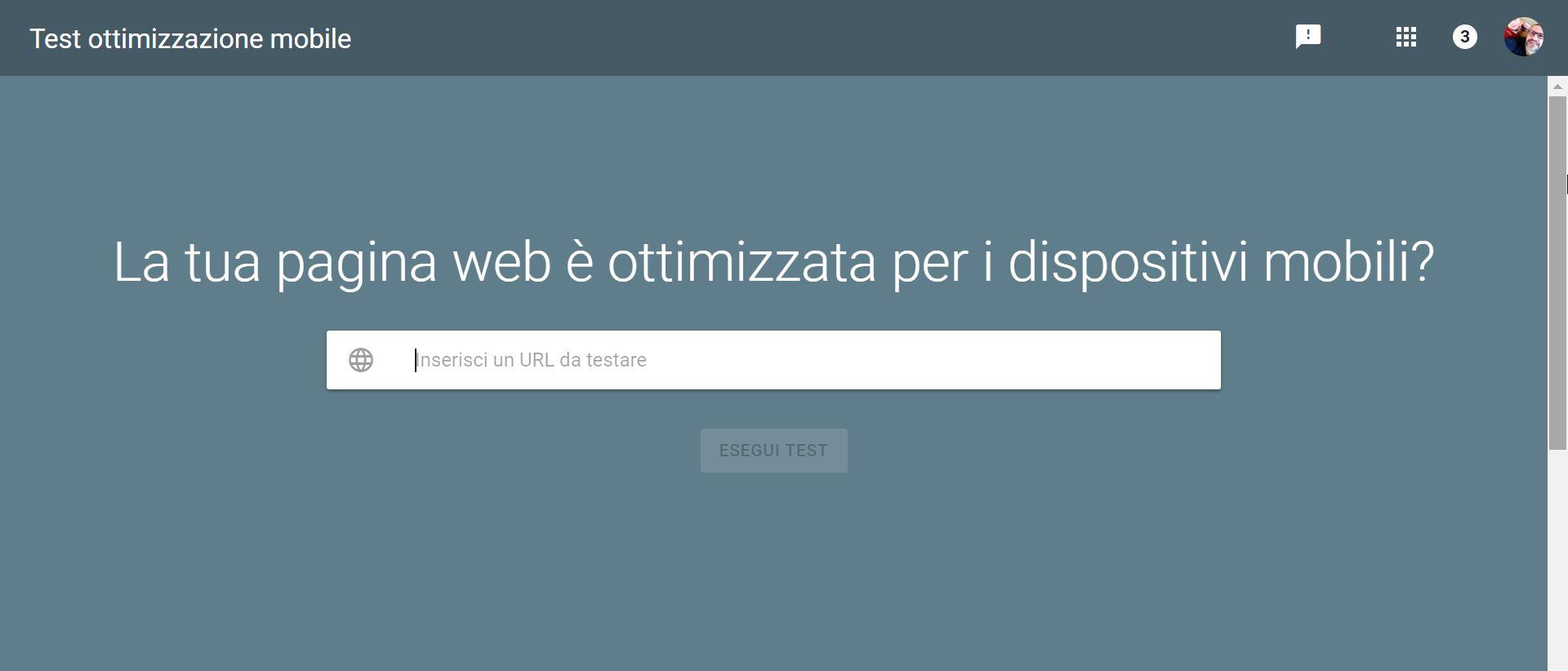 test mobile tool Google